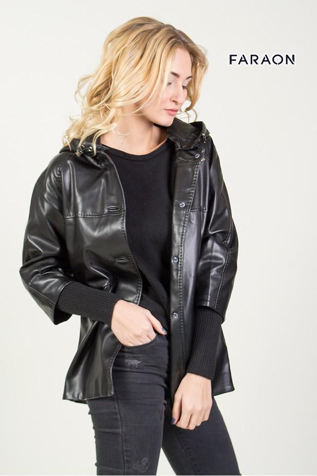 EY626 Шкіра жіноча (Куртки з шкірзамінника) 4f25d1c442087