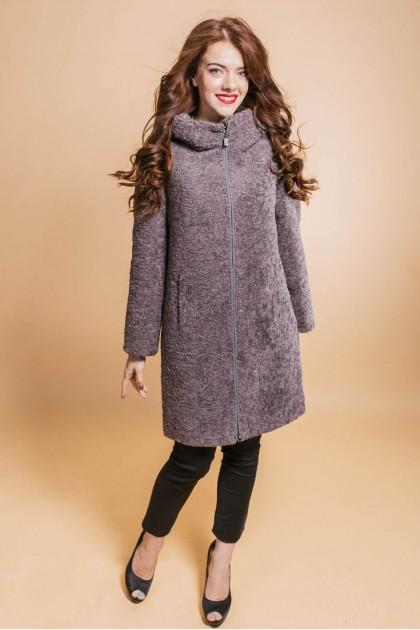 fm810 пальто капюшон графіт