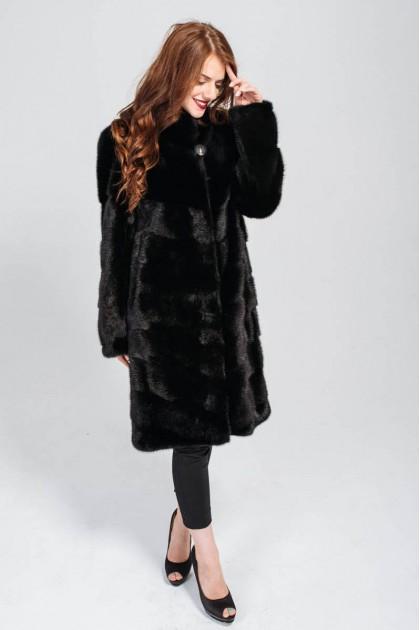 Норкове пальто ексклюзив 100 см