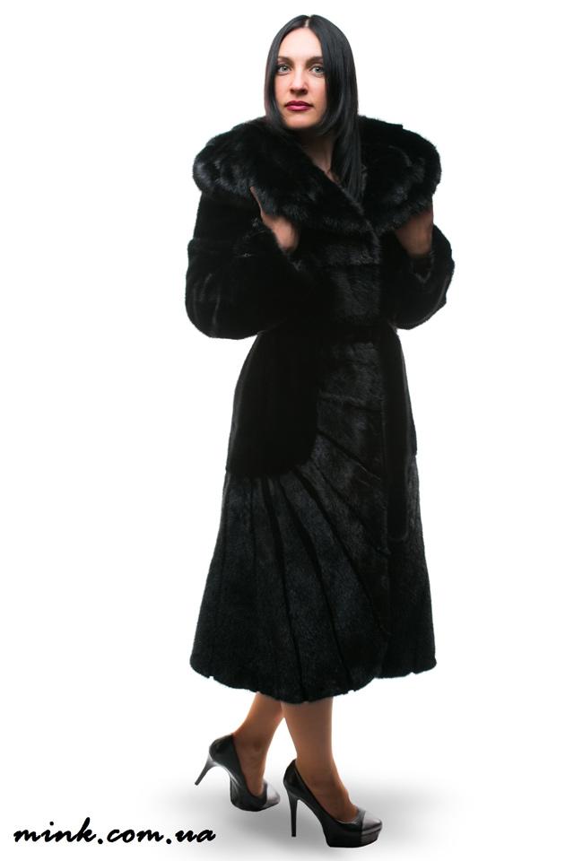 шуба из норки ручной работы, норковые шубы киев распродажа, интернет магазин женской одежды