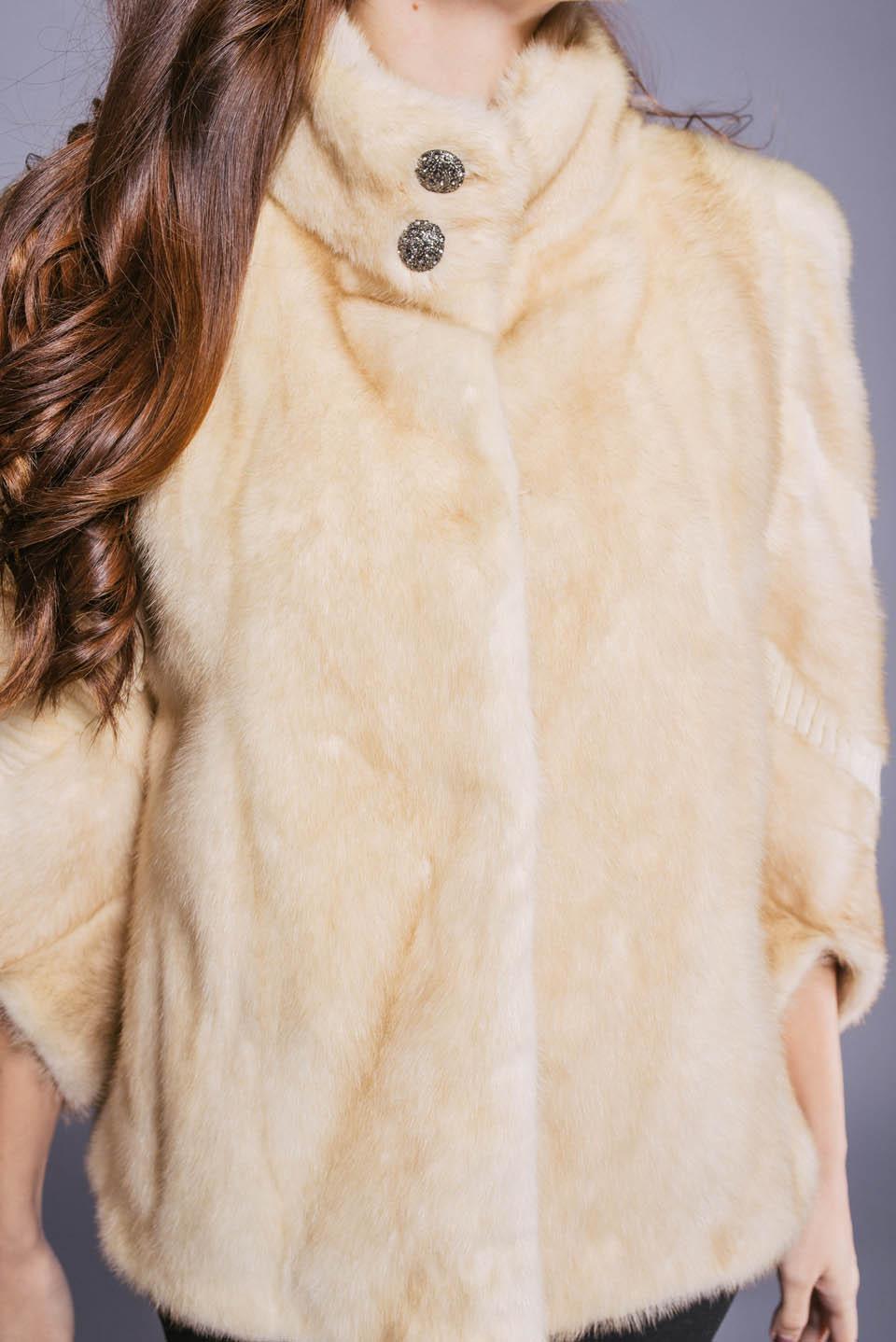Полушубок из норки, автоледи, женская одежда, купить полушубок из норки, магазин Фараон