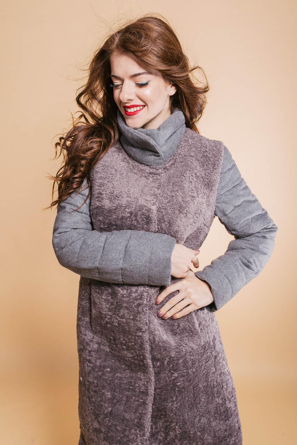 Пальто из шерсти, женское пальто-трансформер, жилетка-трансформер, купить пальто, купить жилетку, фараон