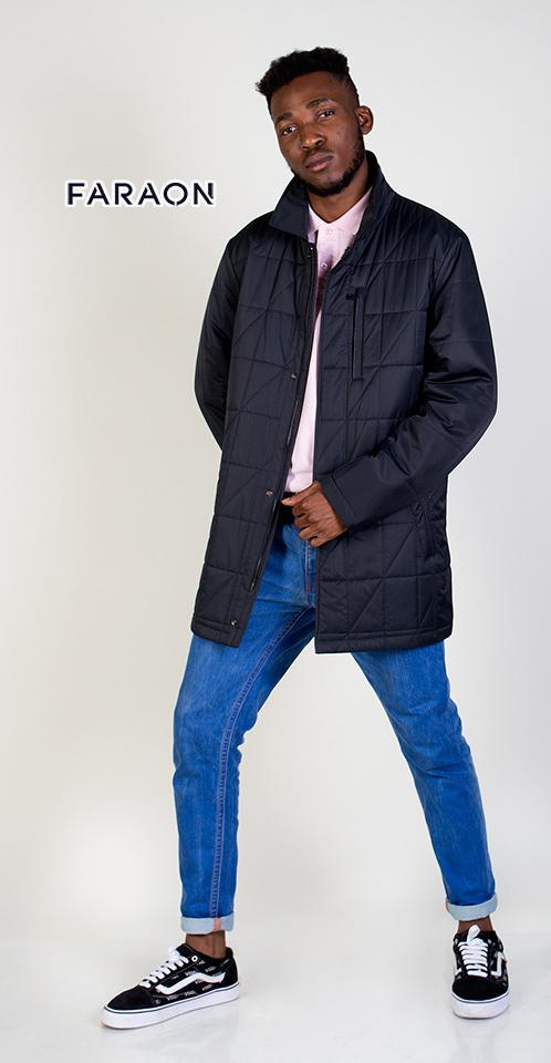 Куртка мужская осенняя,куртка мужская синего цвета, куртка мужская осенняя удлинённая