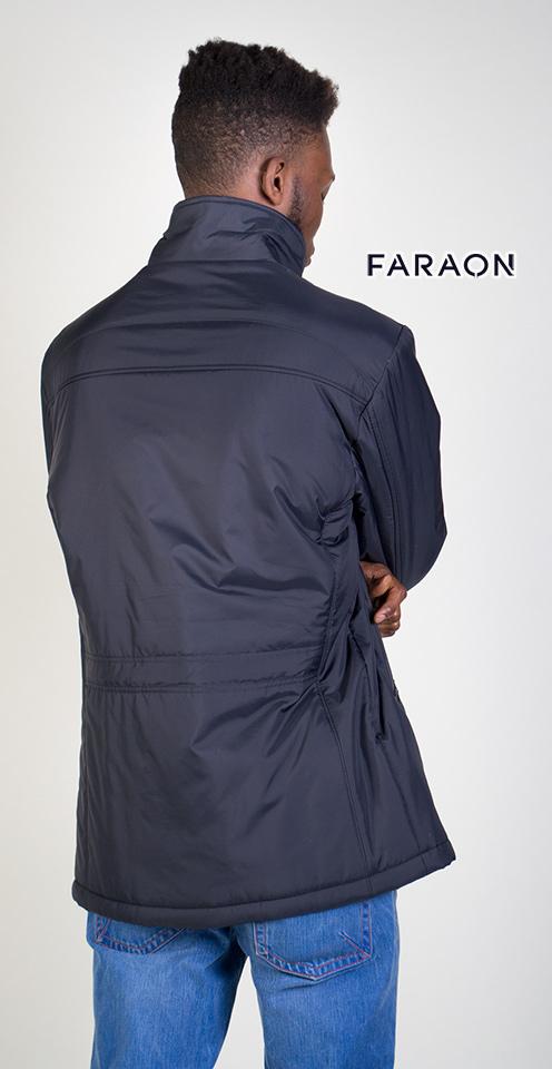 Купить куртку мужскую осеннюю облегчённую, куртка мужская осенняя удлинённая синего цвета