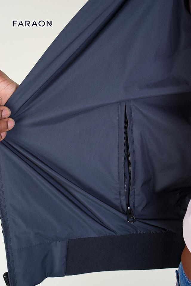 Купить ветровку мужскую двухстороннюю  манжет под резинку