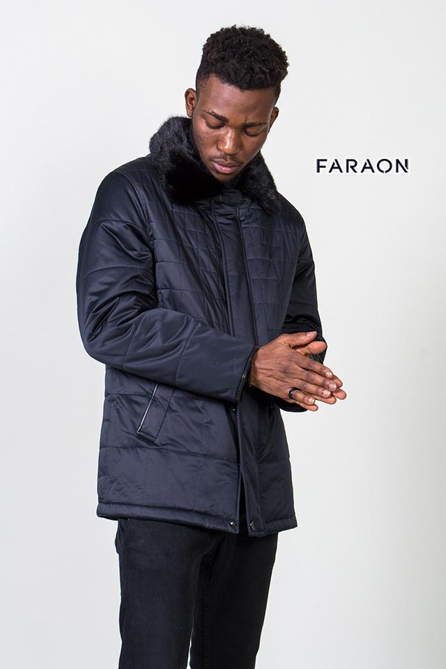 Мужская зимняя куртка, мужской пуховик, синий мужской пуховик, мужское пальто, куртка с мехом
