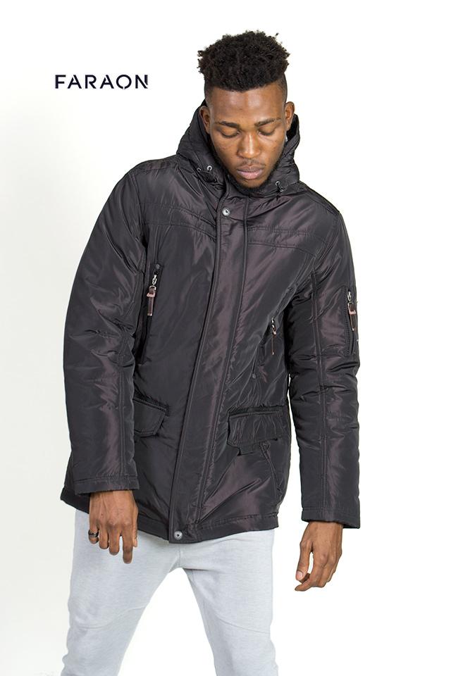 Куртка пуховик мужской, зима. Стильный теплый и комфортный пуховиек из новой коллекции