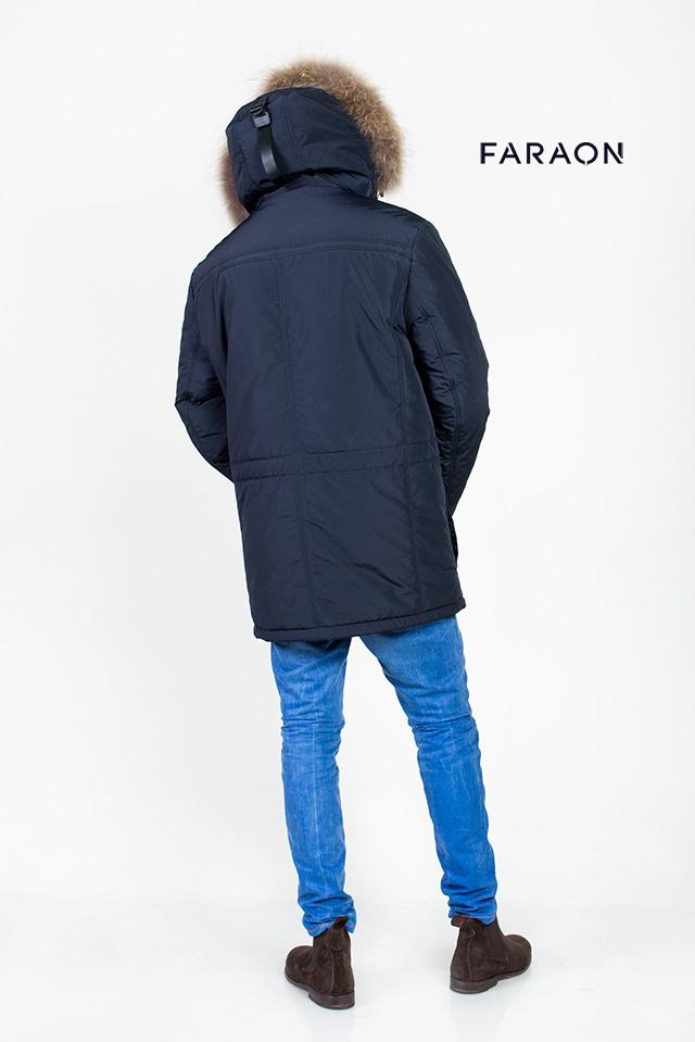 Мужской пуховик, зимняя куртка, аляска, парка, мужской пуховик темно-синего цвета, пуховик синего цвета