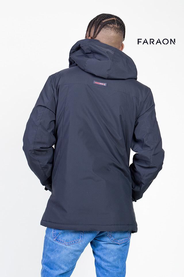 Мужская ветровка, короткая куртка, куртка синего цвета, плащевка, штурмовка