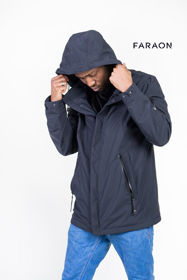 Мужская ветровка на молнии , ветровка мужская синего цвета с капюшоном, удобная и легкая мужская ветровка .