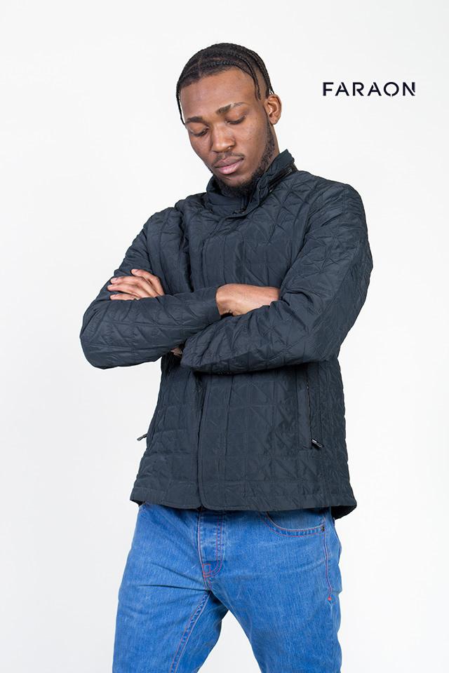 Мужская куртка, короткая куртка, парка, стеганная куртка, мужская синяя куртка
